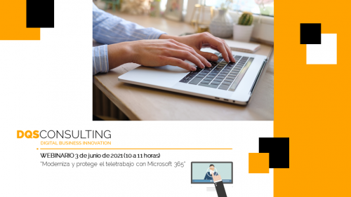Moderniza y protege el teletrabajo con Microsoft 365 (Webinario)